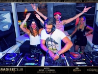 Summer 2013 Brad Wilder at Paradise Club Mykonos