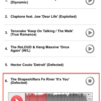 The Shapeshifters #6 on Buzz Chart!