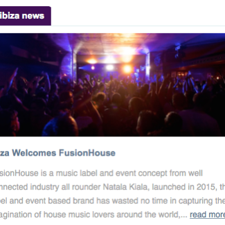 Ibiza welcomes FusionHouse | Essential Ibiza News