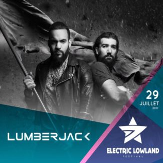 Lumberjack @ Electric Lowland Festival, Lyon (France) on July 29th, 2017