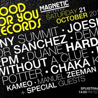 Duane Harden for Good For You Records @ W Hotel (ADE), Amsterdam (The Netherlands) on October 21st, 2017