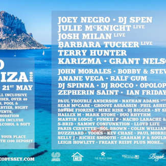 Bobby & Steve @ Go Ibiza, Ibiza (Spain), May 18th-22nd, 2018