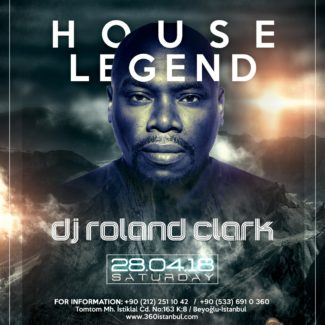 Roland Clark @ 360, Istanbul (Turkey) on April 28th, 2018