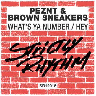 "PEZNT & BROWN SNEAKERS ""What's Ya Number / Hey"" – single release"