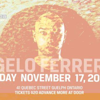 Angelo Ferreri (Disco Town) @ Ebar, Guelph (Canada) on November 17th, 2018