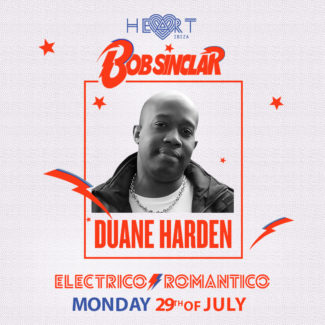 Duane Harden for Electrico Romantico @ Heart, Ibiza (Spain) on July 29th, 2019