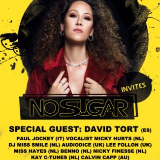 David Tort for No Sugar @ Crea, Amsterdam (The Netherlands) on October 18th, 2019
