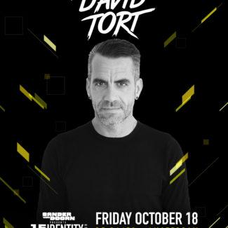 David Tort @ De Bajes, Amsterdam (The Netherlands) on October 18th, 2019 (ADE 2019 event)