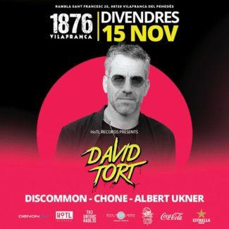 David Tort @ Club 1876, Vilafranca (Spain) on November 15th, 2019