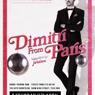 Dimitri From Paris @ The Keys, Yarm (UK) on April 11th, 2020