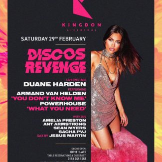 Duane Harden @ Kingdom, Liverpool (UK) on February 29th, 2020