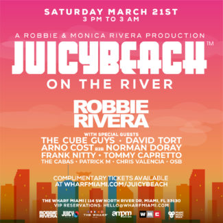 David Tort @ Juicy Beach on The River, Miami (USA) on March 21st, 2020