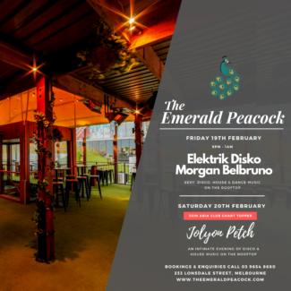 Jolyon Petch @ The Emerald Peacock, Melbourne (Australia) on February 20th, 2021