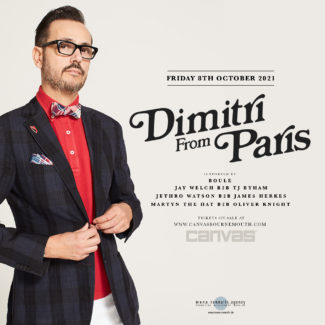 Dimitri From Paris @ Canvas, Bournemouth (Great Britain) on October 08th, 2021