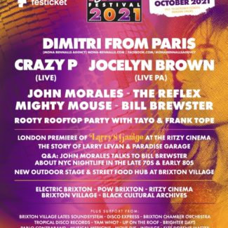 Dimitri From Paris @ Electric Brixton @ POW, Brixton (UK) on October 09th, 2021