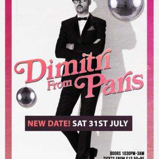 Dimitri From Paris @ The Keys, Yarm (UK) on July 31st, 2021