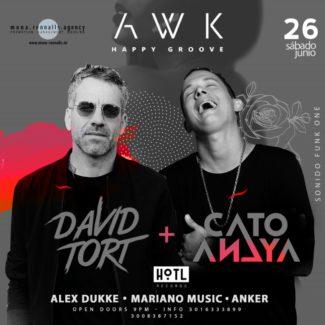 David Tort @ AWK, Bogota (Colombia) on June 26th, 2021