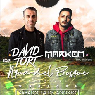 David Tort & Markem @ Aqua del Bosque Festival, Medellin (Colombia) on August 14th, 2021