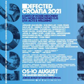 Bob Sinclar for Defected Festival, Tisno (Croatia) on August 07th, 2021