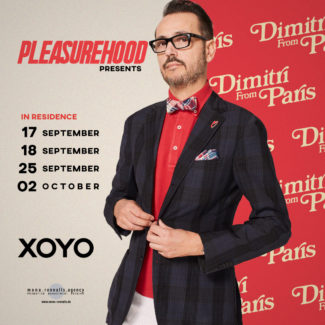 Dimitri From Paris @ Xoyo, London (Great Britain) on October 02nd, 2021